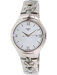 Tissot Women's T12 T082.210.11.038.00 Silver Stainless-Steel Swiss Quartz Watch with White Dial