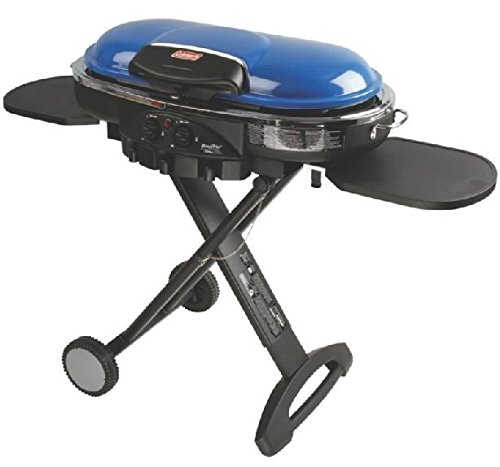 Coleman Road Trip Portable Grill - Coleman Roadtrip LXE Propane Grill Finish: Blue
