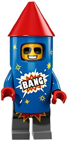 LEGO Series 18 Collectible Party Minifigure - Firework Guy (71021)