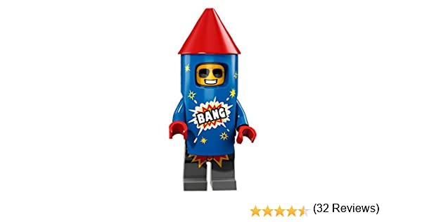 LEGO Minifigures Series 18 - Chico con disfraz de cohete: Amazon ...