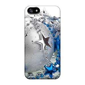 High Quality Shock Absorbing Case For Iphone 5/5s-christmas And Happy New Year Christmas Balls