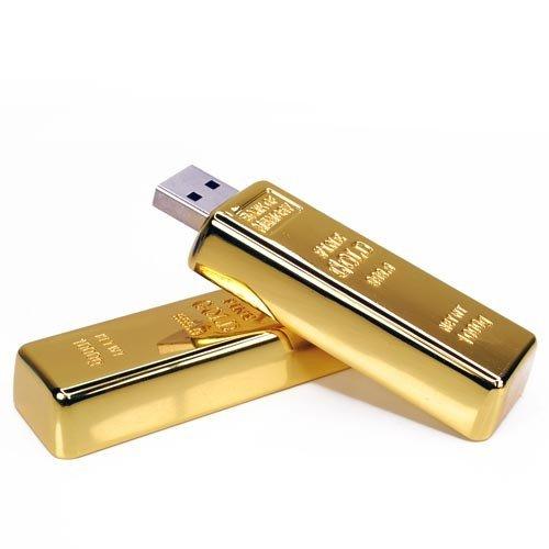 gold bar flash drive - 7