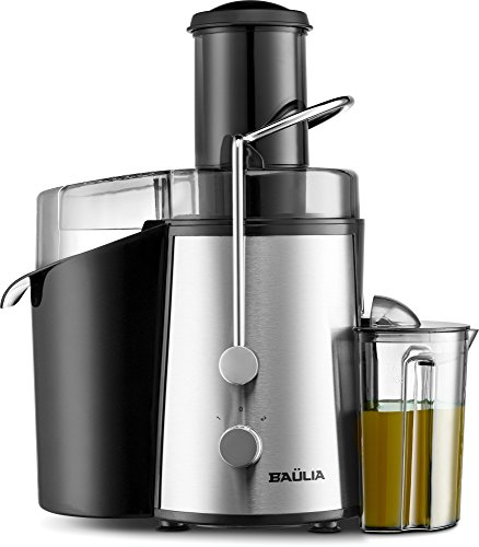Baulia JM804 Electric Juice Fountain Juicer Machine Extractor, Bpa Free, Powerful 850W, Black