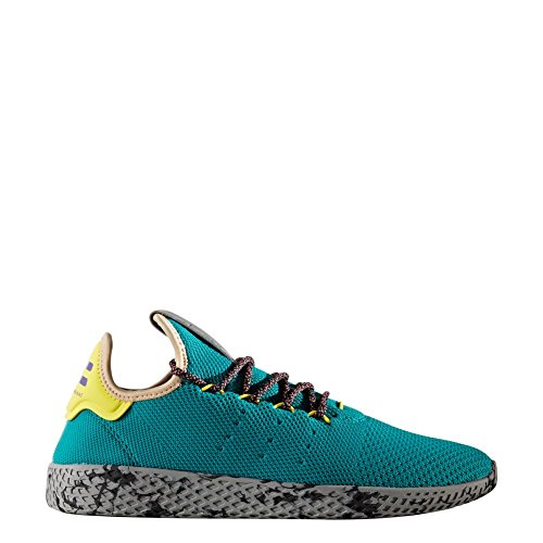 Chaussures Adidas - Pw Tennis De Hu Turquoise / Multicolore Gris Taille: 44