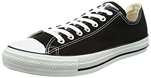 Converse Unisex Chuck Taylor All Star Low Top Black Sneakers - 8 B(M) US