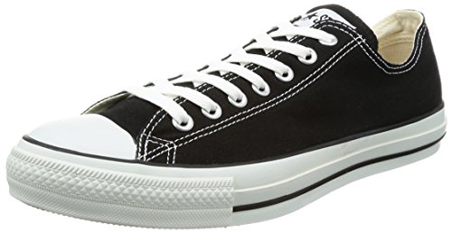 Converse Shoes Online (Converse Unisex Chuck Taylor All Star Low Top Black Sneakers - 7.5 D(M) US)