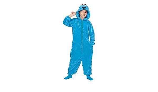 Barrio Sésamo Disfraz Pijama del Monstruo de Las Galletas para ...