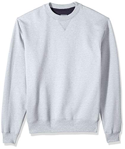 Champion Men's Cotton MAX Fleece Crew, Light Steel 2X Large