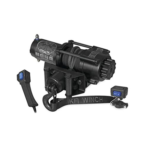 New KFI 3500 lb Stealth Edition Winch & Model big image
