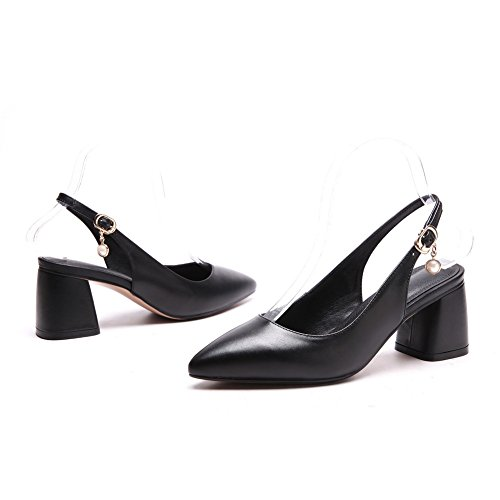 BalaMasa Noir Compensées Noir BalaMasa Femme Sandales Sandales Compensées Femme qS1wfFFU