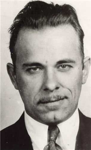 JOHN DILLINGER MUG SHOT GLOSSY POSTER PICTURE PHOTO mugshot bank robber gang