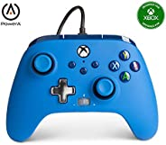 PowerA Enhanced Wired Controller for Xbox - Blue, Gamepad, Wired Video Game Controller, Gaming Controller, Xbo