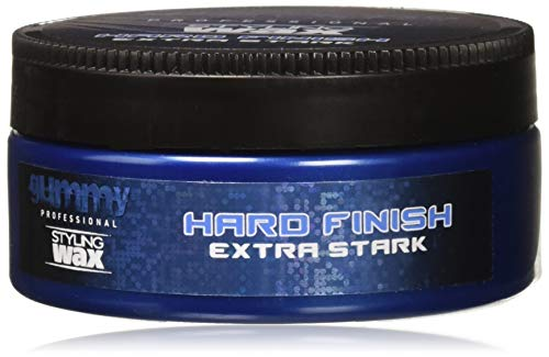 Gummy Styling Wax Hard Finish Extra Stark, 5 Ounce