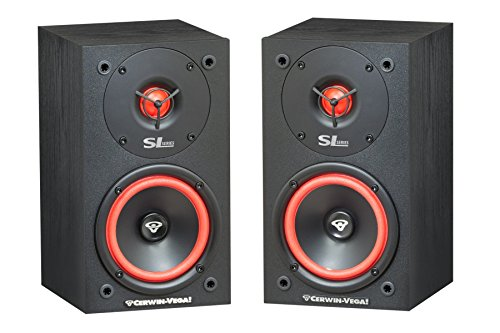 Cerwin Vega SL5M 2-Way Bookshelf Speakers, Pair