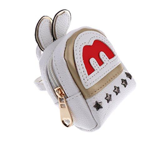 Baoblaze Niedlichen Puppe Reißverschluss Schultasche Rucksack für 1/3 Bjd Sd Puppen Zubehör - # 4 # 1 yqPnotJXw