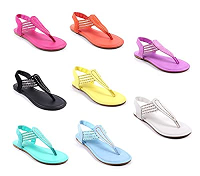 Bamboo Fashion Slip on Only Style Blink Slingbacks Flats Womens Casual Sandals Shoes New Without Box
