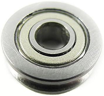 Aihasd 604UU U604ZZ impresora 3D Cojinete 4mm Riel de guía para ...
