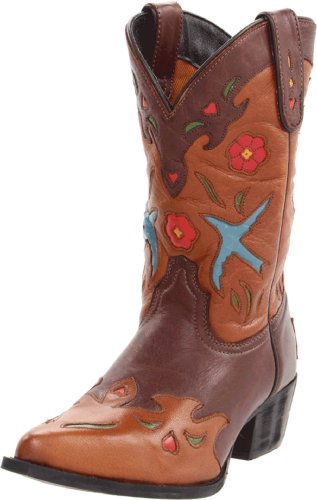 Dan Post Kids Blue Bird Boot,Brown,10 M US Toddler
