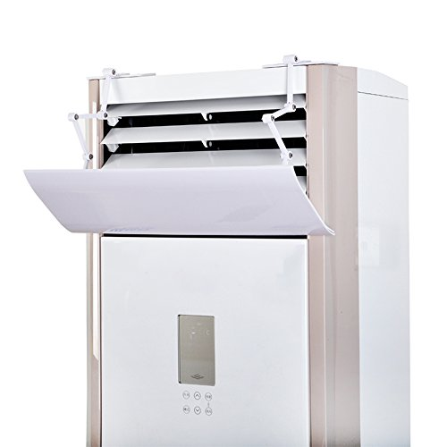 (Air Conditioning Deflector for Vertical Air Conditioning,Prevent Cold Air from Blowing Straight,Four-Stage Pylon Design, Free to Adjust Height and Angle,Suitable for Children,Pregnant)