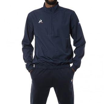 Le Coq Sportif N°1 Training Homme Sweat Marine  Amazon.fr  Vêtements et  accessoires c8b27348afee