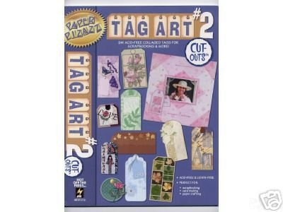 - Tag Art #2 241 Acid Free Collaged Tags Paper Pizazz