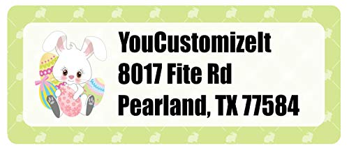 (Easter Bunny Return Address Labels (Personalized))