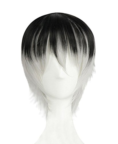 DAZCOS Haise Sasaki Wig Anime Cosplay (Multicoloured)