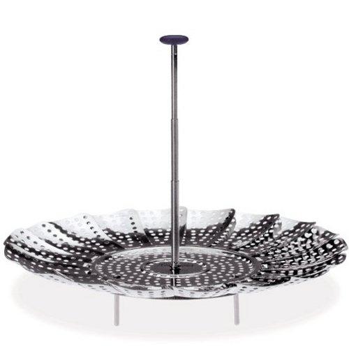Prepworks by Progressive Easy Reach Stainless Steel Steamer Basket - 9 Inch