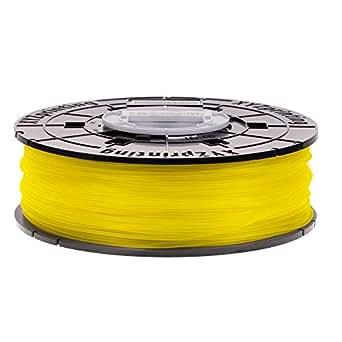 XYZprinting RFPLCXEU0EC Bobina de Filamento de PLA de diámetro 1.75 mm, Amarillo