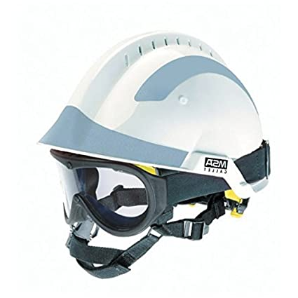 Blanco MSA F2 X-trem casco con gafas