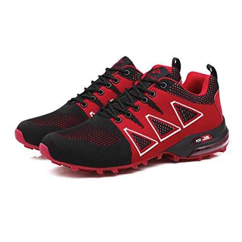 Shoes Breathable Casual Fitness Men's C Running Sneakers Walking Athletic Mesh UTENAG Sports Red Lightweight tSvqww