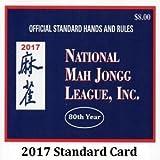 National Mah Jongg League Standard Size Scorecard 2017