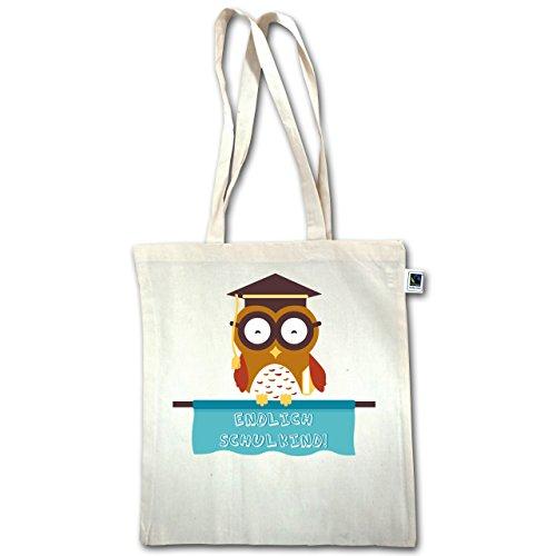 Iscrizione - Scolaretto Sly Owl Boy - Unisize - Natural - Xt600 - Manico Lungo In Juta Bag