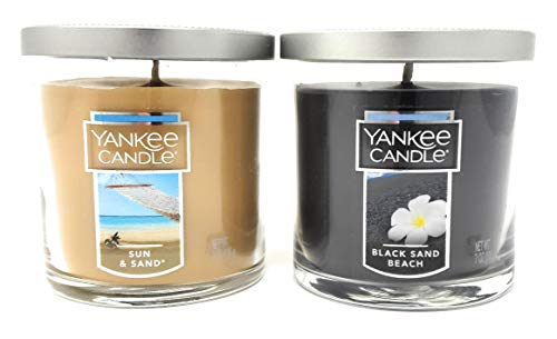 Sun & Sand and Black Sand Beach Small Tumbler Candles - Set of 2