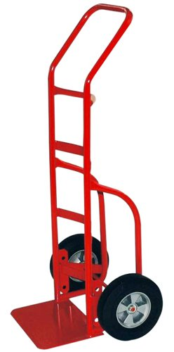 Milwaukee Hand Trucks 33007 Heavy Duty Flow Back Handle Truck with 10-Inch Puncture Proof (Flow Back Handle Truck)