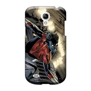 JohnPrimeauMaurice Samsung Galaxy S4 Mini Scratch Protection Phone Case Allow Personal Design Vivid Nightcrawler I4 Image [Koh6417IqEC]