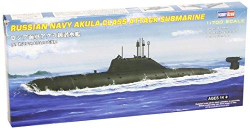 Hobby Boss Russian Navy Akula Class Attack Submarine Boat Model Building Kit