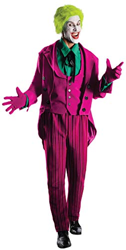 Rubie's Grand Heritage Joker Classic TV Batman Circa 1966, Multi-Colored, Standard Costume