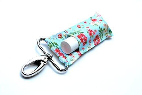 Price comparison product image Chapstick Holder,  Lip Balm Holder,  Clip-On Chapstick,  Mint Shabby Chic Floral