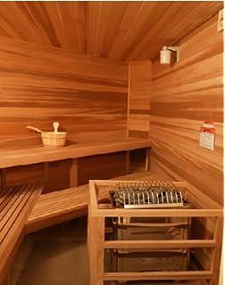 Amazon Com Northern Lights Group Diy Sauna Kit 6 X 8 Complete