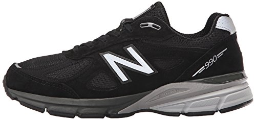 New Balance Men's M990BK4 Running Shoe, Black/Silver, 7 D US by New Balance (Image #5)