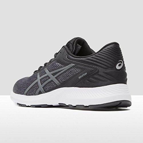 Asics T6h8n 9097, Zapatillas de Deporte Unisex Adulto noir/gris carbone/blanc