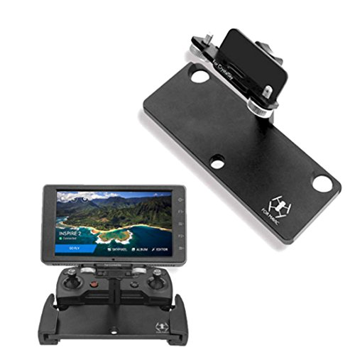 Bracket-PINCHUANGHUI-Mavic-Pro-Monitor-Holder-Extension-Aluminum-Bracket-Tablet-Mount-for-55-785-inch-CrystalSky-for-DJI-Spark-Remote-Control