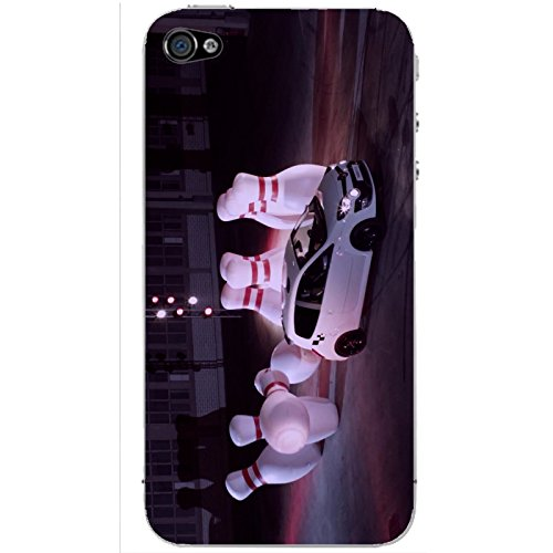 Coque Apple Iphone 5-5s-SE - Voiture Bowling