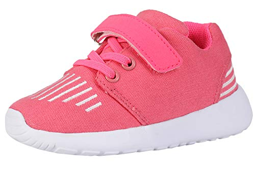 FANSITE Kid's Lightweight Sneakers Boys Girls Toddler Cute Casual Running Shoes -