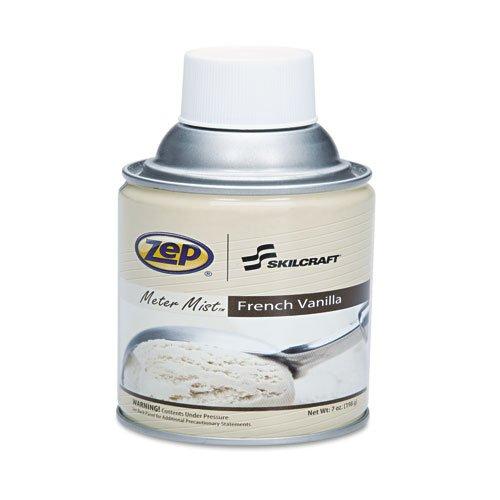 6840014295864 Skilcraft Zep Meter Mist Refills, French Vanilla, 10Oz, by NIB - NISH