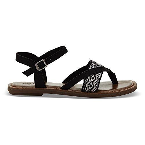Lexie Embroidery Toms Black Toms Lexie sandalia sandalia O8qFnT