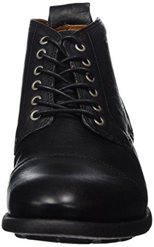 TEN POINTS Herren David Desert Boots Schwarz (Black)