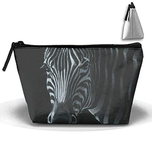 Cosmetic Bags Travel Portable Makeup Pouch Cute Face CatCartoon Halloween Theme -