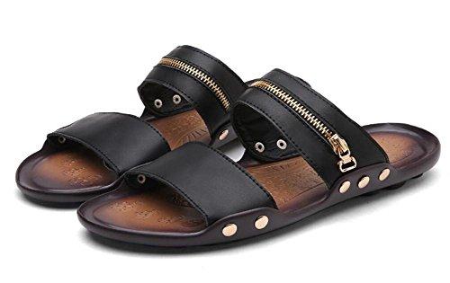 Estate nuova tendenza della parola uomini di trascinamento spiaggia di spiaggia scarpe casual scarpe da uomo , 2 , 42